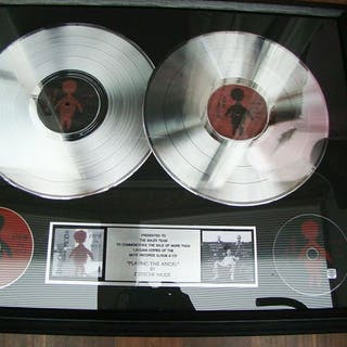 "Depeche Mode - ""Playing the Angel""1 million sales award..."