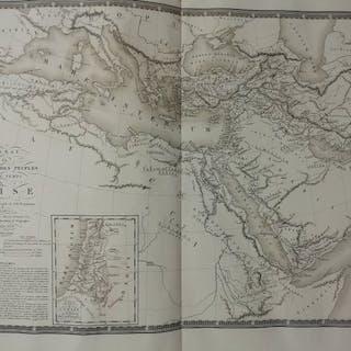 Welt, Atlas; Adrien-Hubert Brué - Atlas Universel de Géographie Physique