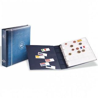 Accessory - Leuchtturm Album Münzalbum Ring-Binder für Euro Münzen