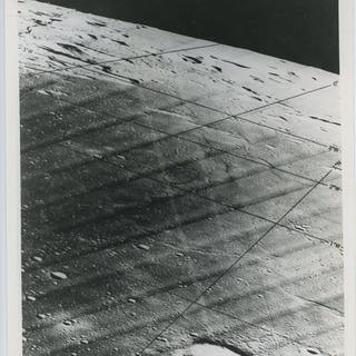NASA- (3x) Lunar Orbiter 111,Landing site on the moon, 1967
