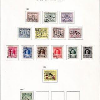 Vatikanstadt 1929/1985 - In standard DAVO album + Italy...