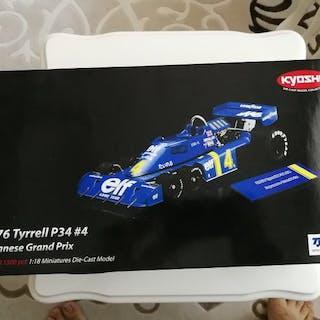 Kyosho - 1:18 - Tyrrell P34- Japanese GP 1976