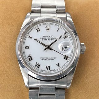 Rolex -Oyster Perpetual Datejust - 16200 - Unisex - 1990-1999
