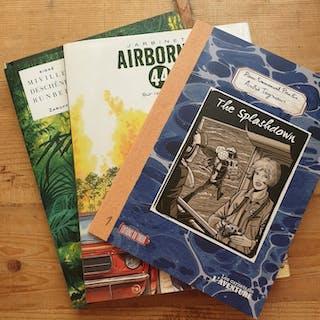 Splahdown / Airborne 44 / Zaroff - 3 albums + ex-libris - 3x C - TL - (2019)