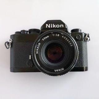 Nikon FM + Nikkor 50mm F1.8