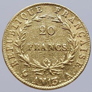 France - 20 Francs An 13-A (1804) Napoleon I - Gold