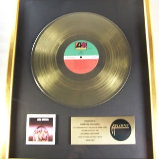 ABBA - Arrival LP Gold Record Award To Agnetha Fältskog...