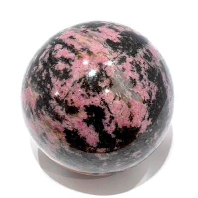 Rhodonite Sphère - 9.5×9.5×9.5 cm - 1580 g