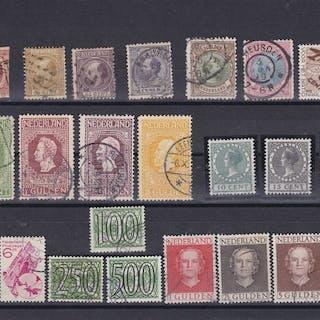 Niederlande 1852/1951 - Selection of stamps
