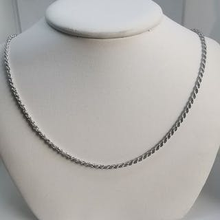 18 kt. White gold - Necklace