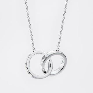 Paloma Picasso Olive Leaf Band Ring Rose Gold - Pendant