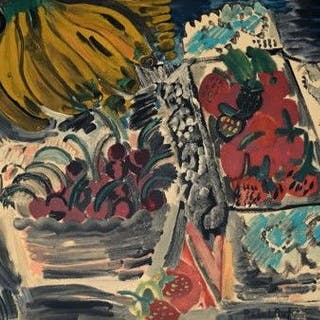 Raoul Dufy (after) - Nature Mort aux Fruits