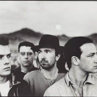Anton Corbijn (1955-) / Island Records - U2, 'The Joshua Tree', 1987