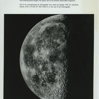 NASA/California Institute of Technology - (12x) Ranger VII / VIII / IX, 1964