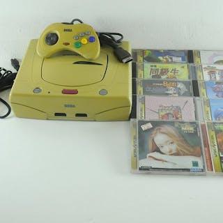 Sega Saturn - Sega Saturn Console w/ 10 Games - Japanese...