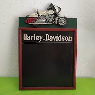 Schiefer, Harley Motorrad in Erleichterung - 1980
