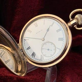 Elgin Watch Company - Savonet - 'NO RESERVE PRICE' - Herren - 1901-1949