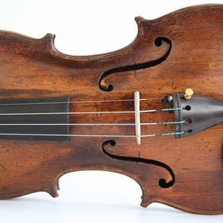 Labeled C. Testore - 4/4 - Violino - Italia - 1740