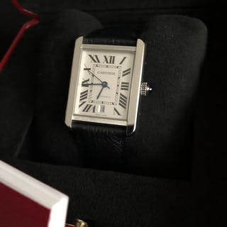 Cartier - TANK SOLO XLARGE - FULL SET - 2018 - on...
