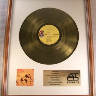 Bee Gees - Best Of The Bee Gees LP Gold Record Award To...