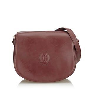 Cartier - Leather Must de Cartier Crossbody Borsa a tracolla