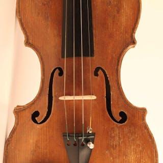 Old violin labelled S. Scarampella - 4/4 - Violino - Italia - 1907