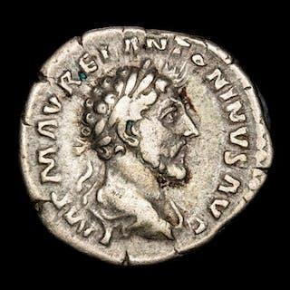 Römisches Reich - Denarius - Marcus Aurelius (161-180 AD ) Rome mint 161 AD
