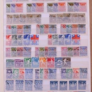 Niederlande 1924/1963 - Inventory in stock book