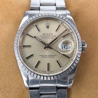 Rolex - Datejust - 16220 - Unisex - 1990-1999
