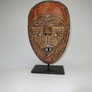 Intaglio (1) - Legno - Masker - Tetela - Repubblica Democratica del Congo