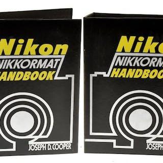 """Nikon,Joseph D.Cooper """"Nikon Nikkormat Handbook"""" Vol.I e Vol.II 1974 in English"""