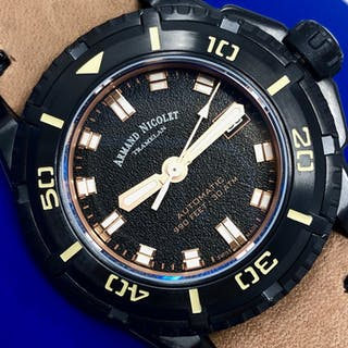 Armand Nicolet - Automatic JS9 Diver Black Dial with...