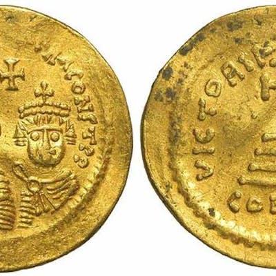 Impero bizantino - Solidus,  Eraclio (610-641)  - Oro