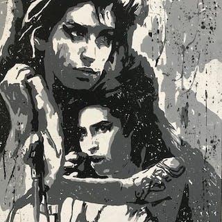 Gerke Rienks, Amy Winehouse, pop art - Broken Wings