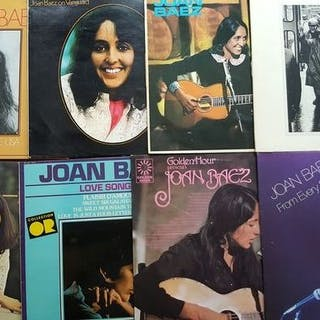 Joan Baez - 6 different albums and 2 double albums...