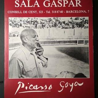 Pablo Picasso - Pablo Picasso y Goya Sala Gaspar - 1980 - 1980er Jahre