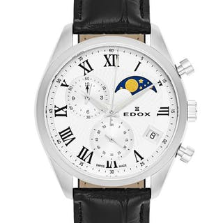 Edox - Les Vauberts Chronograph Mondphase Datum - 01655 3...