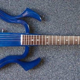 ChS - Silent gitaar met steel strings, donkerblauw - Chitarra elettrica
