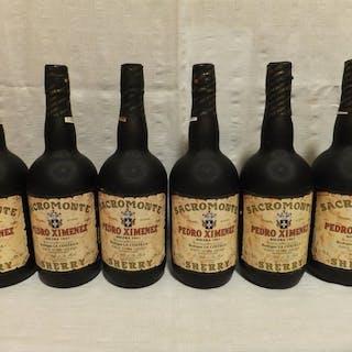 "1941 Solera Pedro Ximenez - La Costilla ""Sacromonte"" - Jerez - 6 Bottles (0.75L)"