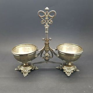 double sale - .950 silver - France - mid 19th century