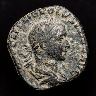 Impero romano - Sestertius Volusian (AD 251-253) minted...