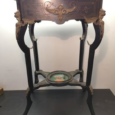 Jardinière - Napoléon III - Bois, Bronze - XIXe siècle