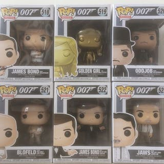 James Bond - Funko - Figur(en) 007 - Complete set of 6