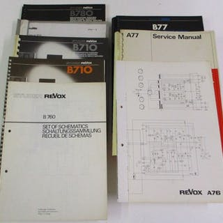 Revox - Service Manuals en schema's - Audio