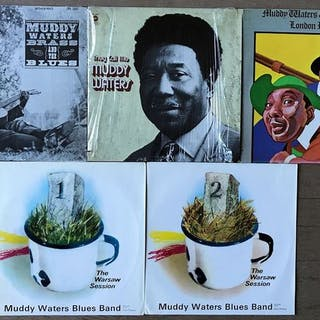 "Muddy Waters -""Brass and the blues"" ""They call me Muddy..."
