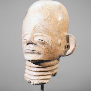 Skulptur - Terracotta - Akan - Ghana