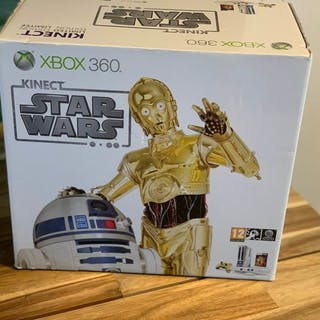 1 Xbox 360 Limited Edition- Kinect Star Wars Bundle (2) - In original box