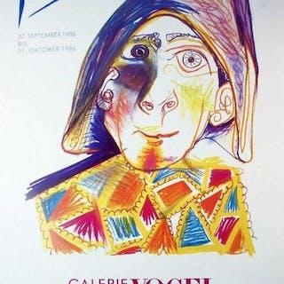 Pablo Picasso - Galerie Vogel - 1986