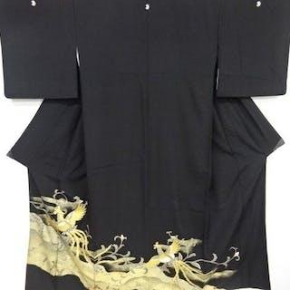 Kimono - Seide - Kimono with Phoenix patterns - Japan - Mitte des 20