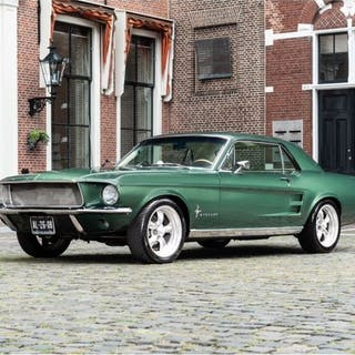 Ford USA - Mustang   1967   Deluxe  - 1967